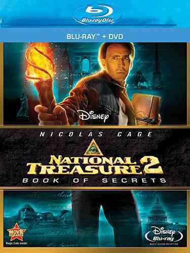 NATIONAL TREASURE 2:BOOK OF SECRETS BY CAGE,NICOLAS (Blu-Ray)